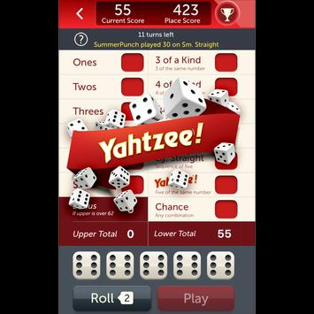 YAHTZEE® With Buddies: A Fun Dice Game for Friends poster