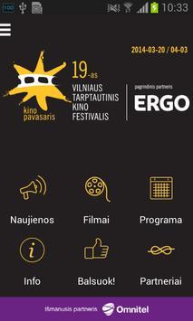 Kino Pavasaris 2014 poster