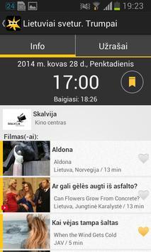 Kino Pavasaris 2014 apk screenshot