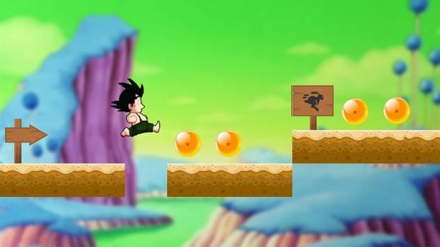 Fighting With Goku Super Saiyan poster