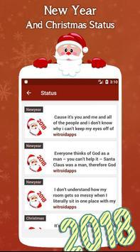 New Year and Christmas Status screenshot 1