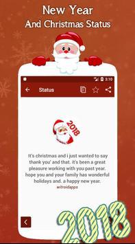 New Year and Christmas Status screenshot 2