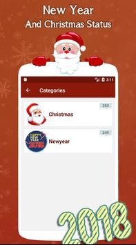 New Year and Christmas Status screenshot 4