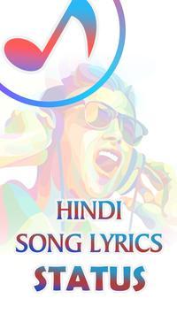 Hindi Song Lyrics Status poster