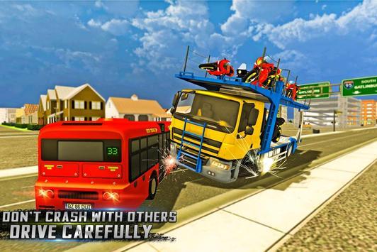 BIke Transport Cargo Truck apk screenshot