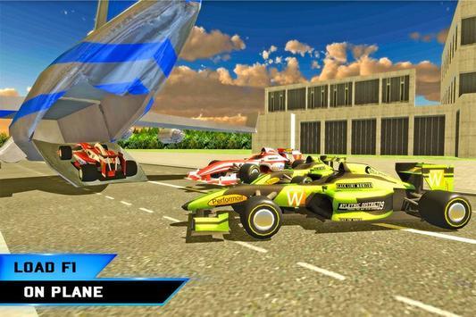 Airplane Pilot Formula Car Transporter apk screenshot