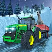 Farm Animals Tractor Transport icon