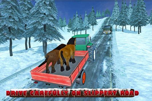Farm Animals Tractor Transport screenshot 1
