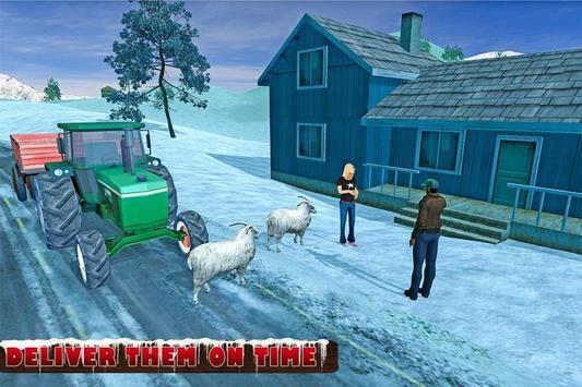 Farm Animals Tractor Transport screenshot 2