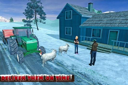 Farm Animals Tractor Transport screenshot 6
