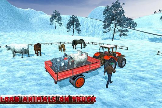 Farm Animals Tractor Transport screenshot 8