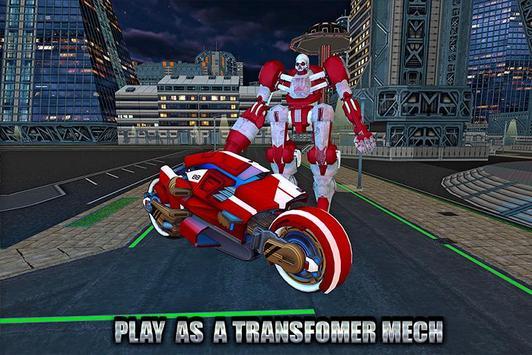 Moto Robot Transforming Hero screenshot 3