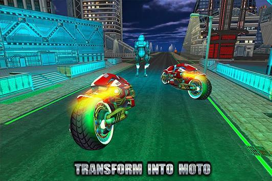 Moto Robot Transforming Hero screenshot 1