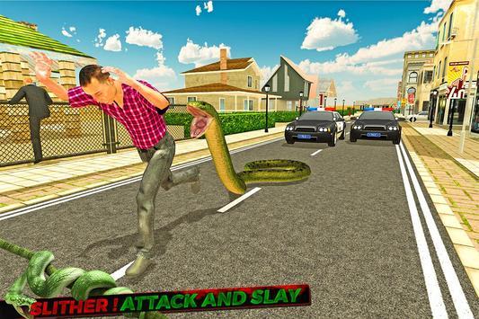 Angry Anaconda Attack. io apk screenshot