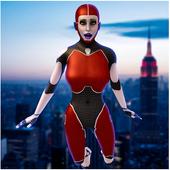 Strange Spider Hero War Girl icon
