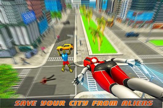 Strange Spider Hero War Girl apk screenshot