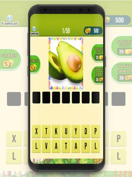 Tebak Gambar Hewan dan Buah screenshot 4