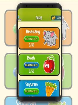 Tebak Gambar Hewan dan Buah screenshot 1
