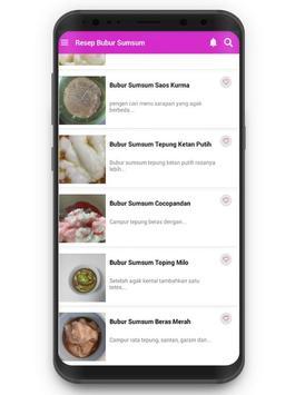 Resep Bubur Sumsum screenshot 1