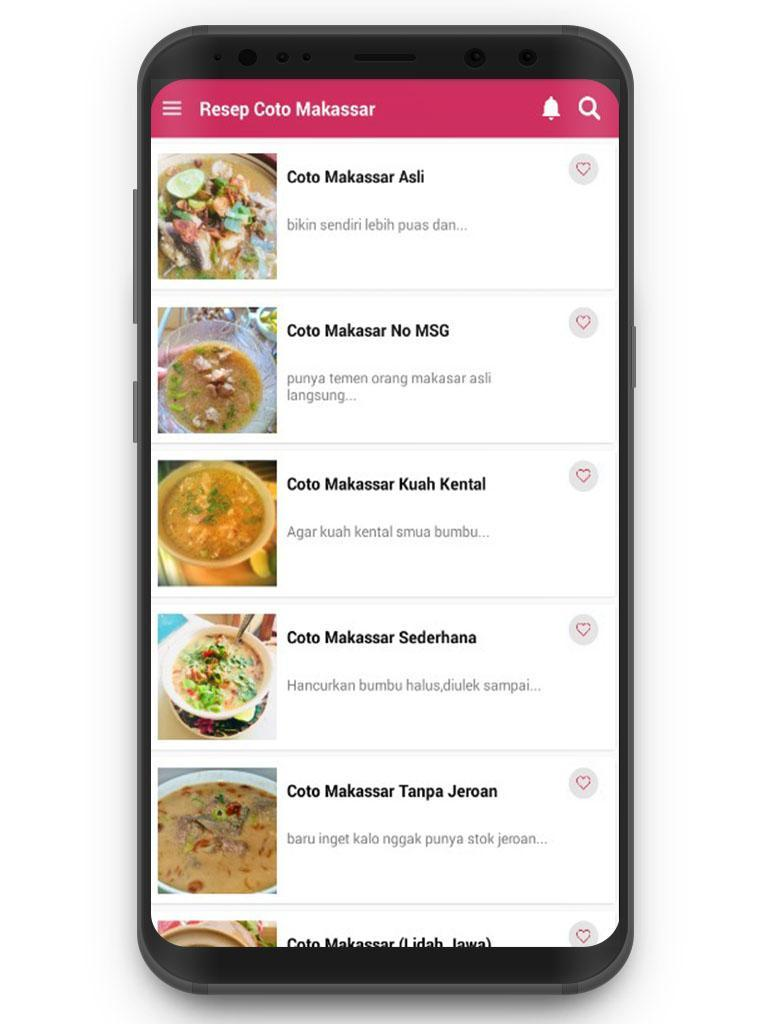 Resep Masakan Coto Makassar For Android Apk Download