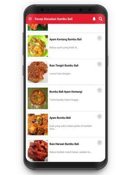 Resep Masakan Bumbu Bali screenshot 1