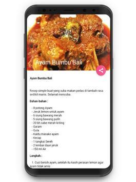 Resep Masakan Bumbu Bali screenshot 3