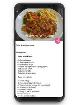 Resep Masakan Steak screenshot 2