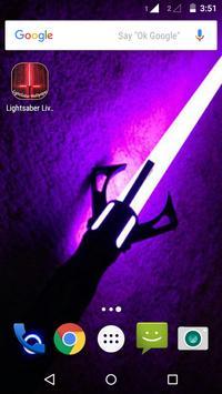 Lightsaber Live Wallpaper apk screenshot