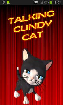 Talking Cundy Cat poster