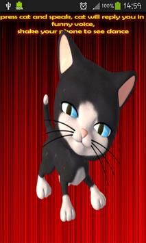 Talking Cundy Cat apk screenshot