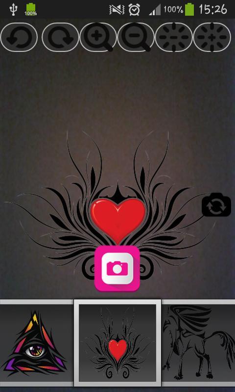 Tattoo camera maker pro apk baixar gr tis entretenimento for Camera blueprint maker gratuito
