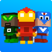 Block Battles: Heroes at War - Multiplayer PVP icon