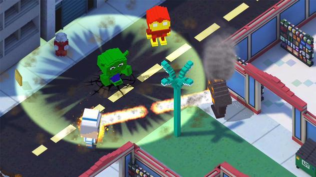 Block Battles: Heroes at War - Multiplayer PVP poster