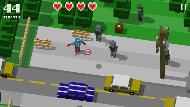 Crossy Heroes poster