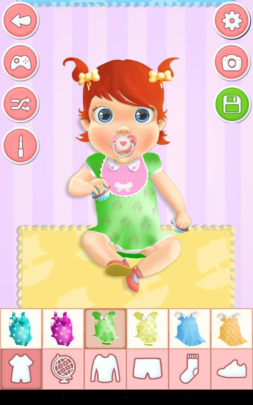 Baby Bedroom Dress Up Games: Baby Dress Up Games For Android