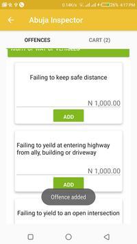 Abuja Inspector screenshot 5