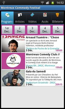 Montreux Comedy Festival poster