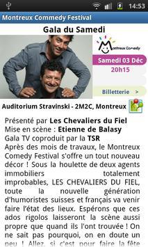Montreux Comedy Festival apk screenshot
