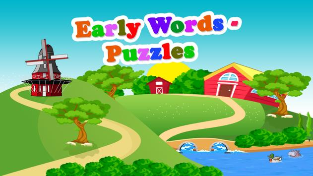 Early Words - Puzzles Free screenshot 13