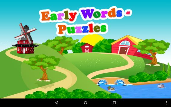 Early Words - Puzzles Free screenshot 8