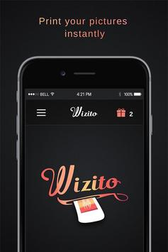 Wizito - Photo booths poster