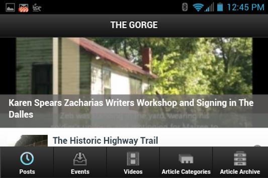 The Gorge apk screenshot