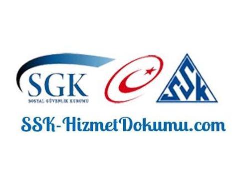 SSK Hizmet Dökümü poster