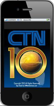 CTN10 TV poster