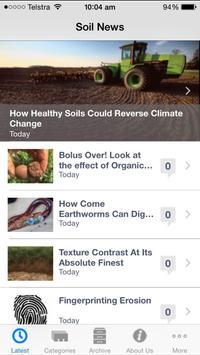 Soil News poster