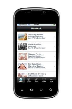 Mumbook Pregnancy & Baby App apk screenshot