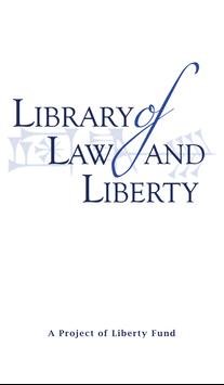 Library of Law & Liberty poster