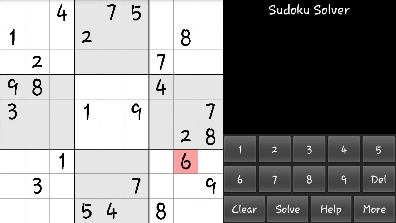 Sudoku Solver for Android - APK Download