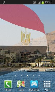 Egyptian Flag Live Wallpaper apk screenshot