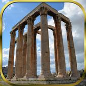 Greece Flag Live Wallpaper icon